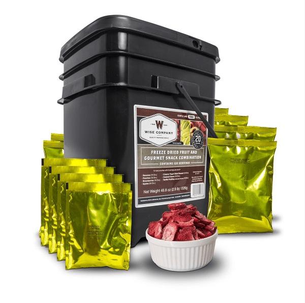 Wise Food Storage Emergency Freeze Dried Fruit - 120 Servings 5