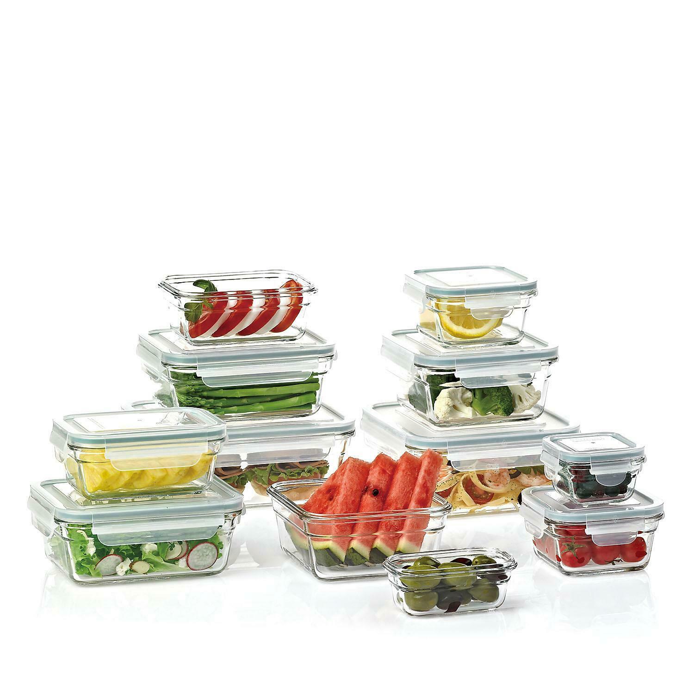 GLASSLOCK Members Mark 24-piece Glass Food Storage Set 1