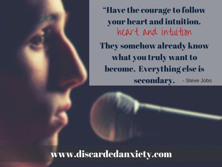 Discarded Anxiety How Cultivating Courage Will Save Your Life