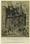 Thompson Street, the home of the ragpicker. (1905). NYPL/