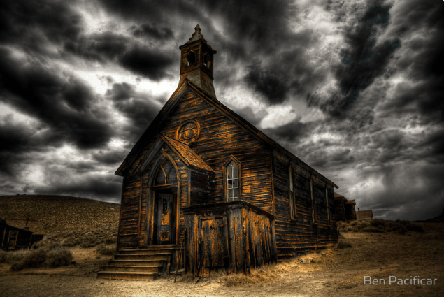 """Bodie Ghost Town"" by artist Ben Pacificar."