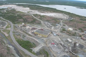 View of Giant Mine. From the Canadian government's Giant Mine Remediation Project.