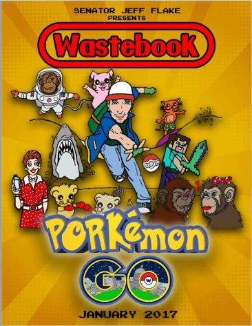 Wastebook Senator Flake