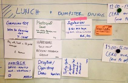 GOSH: time for dumpster diving!