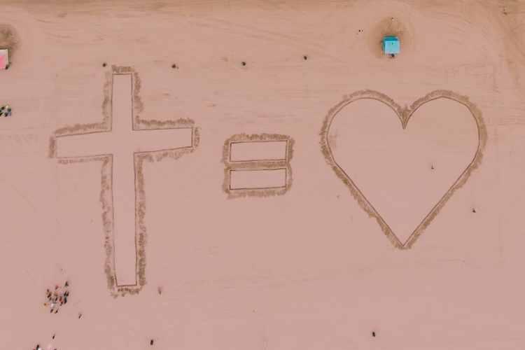 Cross = Heart