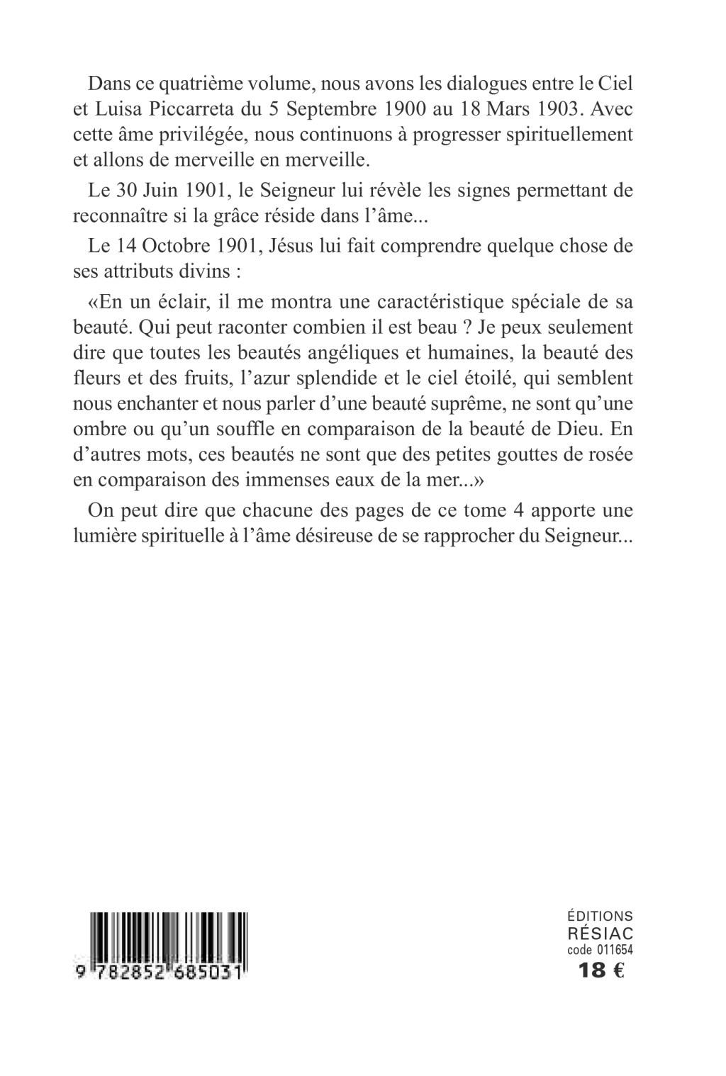Luisa Piccarreta - Le Livre du Ciel - Tome 4