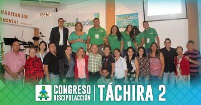¡CONGRESO DISCIPULACCIÓN 2 TÁCHIRA!