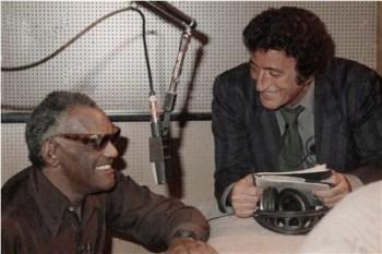 Ray Charles and Tony Bennett, 1986