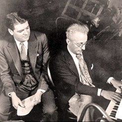 Oscar Hammerstein and Jerome Kern