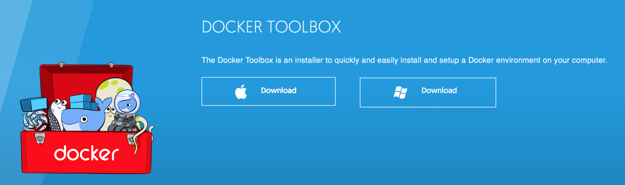 Installing and Using Docker Toolbox for Mac OSX and Windows