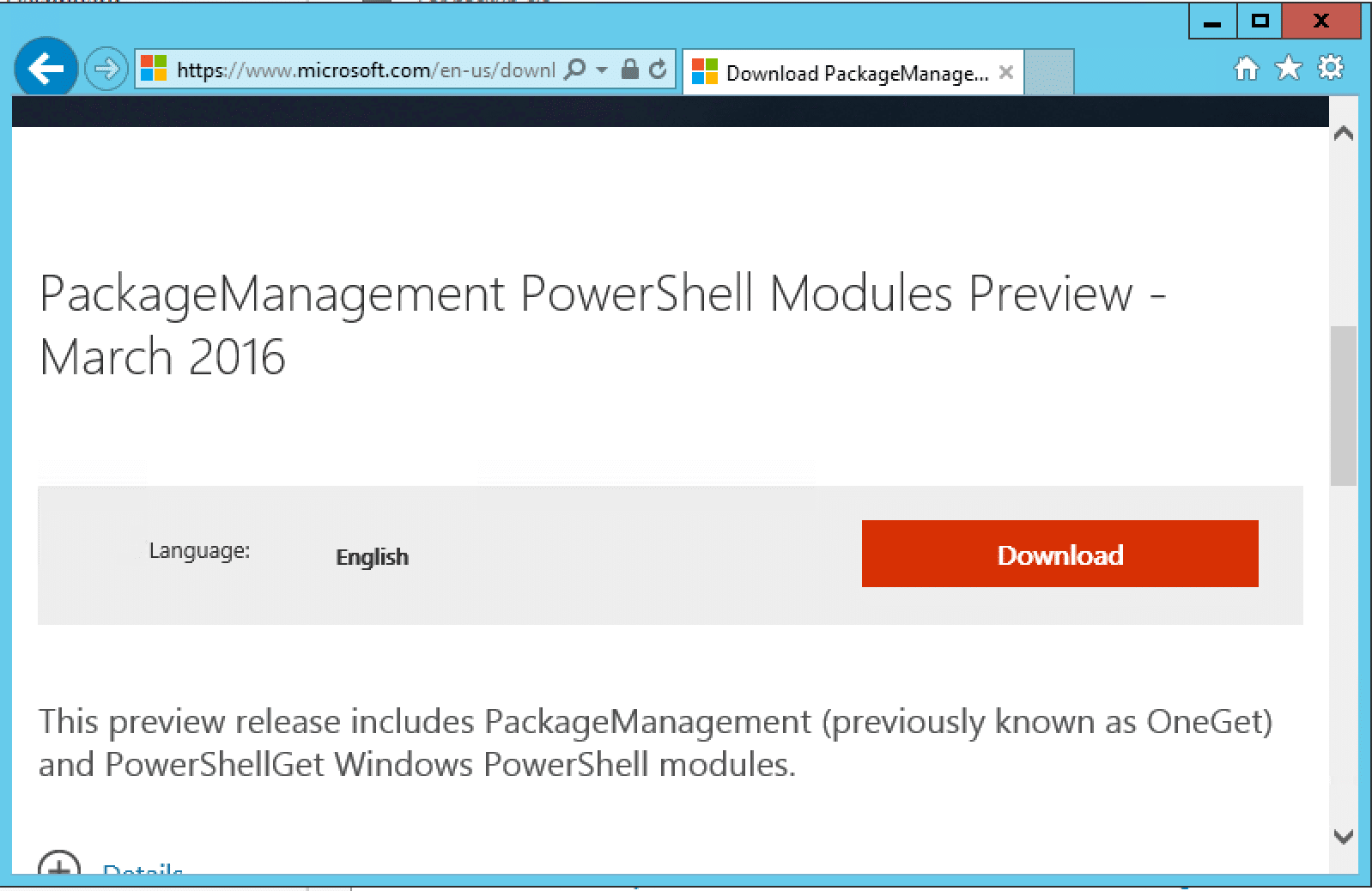 Installing PowerCLI 6 5 x on Windows Server 2012 R2 after