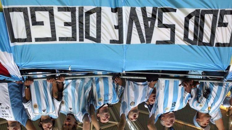 Maradona o cómo el entierro no es tu 'puta fiesta'