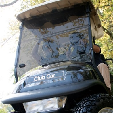 Modified Acrylic Windshield for Golf Carts