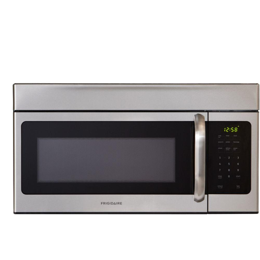 over the range microwave in stainless steel 30 in 1 6 cu ft 1 000 watts