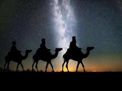 Traveling on Camels