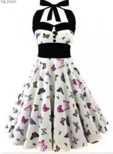 A Beautiful Mini Dress