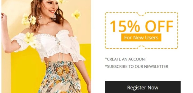 Zaful discount and coupons