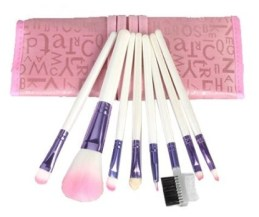 8 Piece Makeup Brush Set Only.