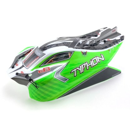 Arrma Typhon V3 4X4 Mega Painted Decaled Trimmed Body Shell (Green)