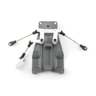 Traxxas Bandit XL-5 Steering Bellcrank Assembly with Turnbuckles, Servo Saver and Upper Chassis