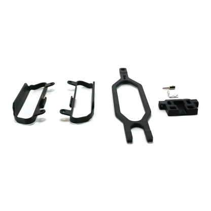 Traxxas Slash 4X4 VXL Battery Hold Down Clamp & Chassis Nerf Bars
