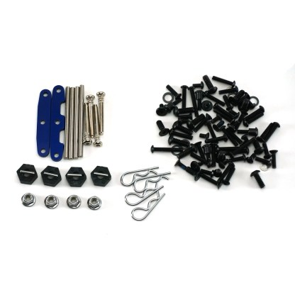 Traxxas Slash 4X4 VXL Hinge Pins Wheel Hex Hardware Lot