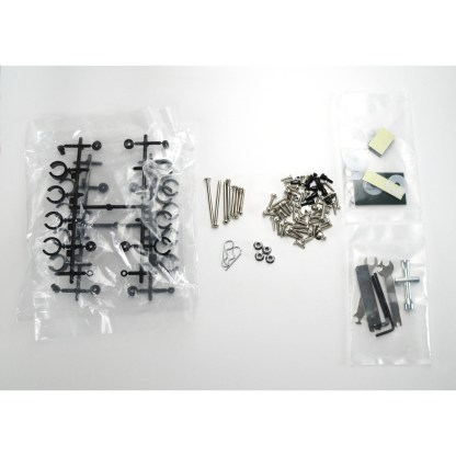 Traxxas Stampede Suspension Spacers, Hinge Pins, Body Clips, Wheel Nuts, Screws