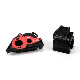 Arrma Granite V3 4X4 3S BLX Aluminum Slider Motor Mount w/ Heat Sink & Fan