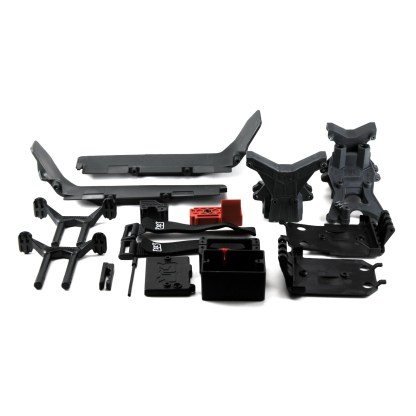 Arrma Granite V3 4X4 3S BLX Shock Tower Body Mount Skid Plate Chassis Guards