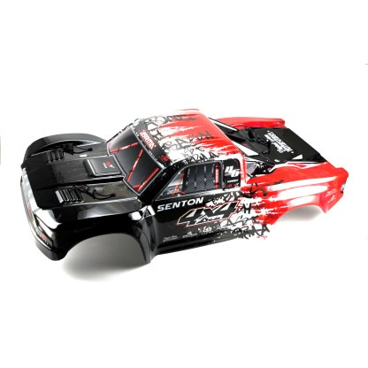 Arrma Senton V3 4X4 3S BLX Painted Decaled Trimmed Body Shell (Red/Black)