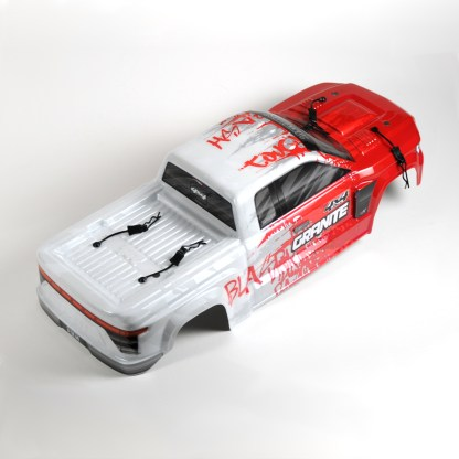 Arrma Granite V3 4X4 3S BLX Body Shell Red/White Painted Decaled Trimmed