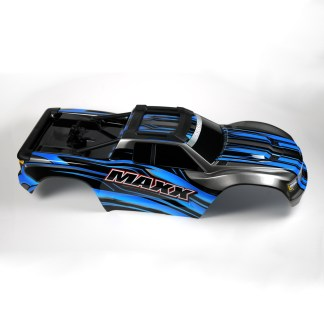 Traxxas 1/10 Maxx 4WD 4S Body Shell Blue Painted Decaled