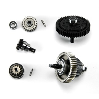 Traxxas 1/10 Maxx 4WD 4S Center Differential Cush Drive Pinion Gears & Bearings