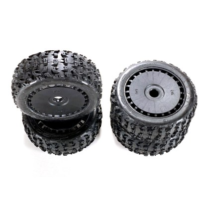 Arrma Typhon 6S BLX V5 Wheels & Tires Dboots katar B 6s Tire Set Glued