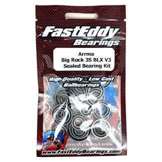 Arrma Big Rock 3S BLX V3 FastEddy Sealed Bearing Kit (26 pcs) (TFE6457)