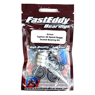 Arrma Typhon 6S FastEddy Sealed Bearing Kit (22 pcs) (TFE1373)