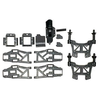 Redcat Racing Volcano EPX PRO Shock Tower Suspension Arm Bulkhead Gear Cover