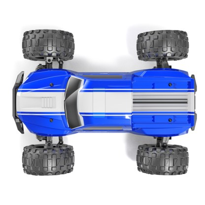 Redcat Racing Volcano-16 1/16 Scale RTR R/C Brushed Electric Monster Truck Blue