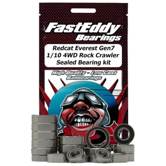 Redcat Everest GEN7 Rock Crawler FastEddy Sealed Bearing Kit (27 pcs) (TFE4526)