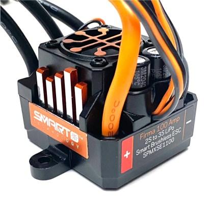 Arrma Vorteks 3S BLX 4X4 Spektrum Firma 100 Amp Brushless Smart ESC SPMXSE1100
