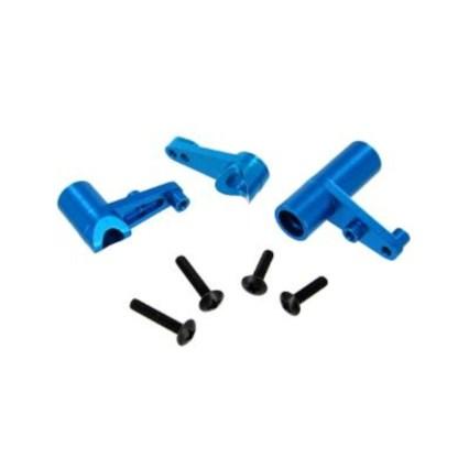 Redcat Racing Blue Aluminum Servo Saver Bell Crank Set (122057) Volcano EPX Pro