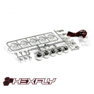 Redcat Hexfly LED Crawler Light Bar Set HX-LED-002 Everest Gen7 Pro/Sport