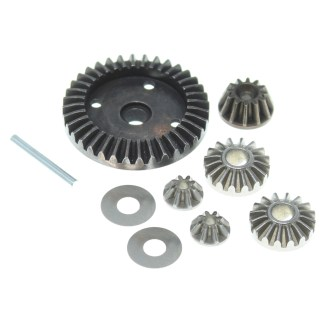 Redcat Volcano-16 Metal Differential Gears, Diff Pinions & Drive Gear RER13678
