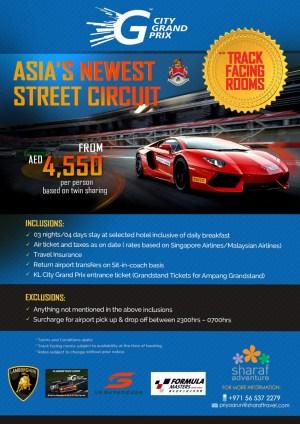 City Grand Prix Tour Package