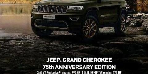Anniversary Edition Jeep Grand Cherokee