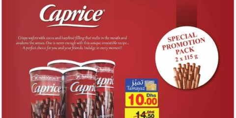 Caprice Wafers Special Promo