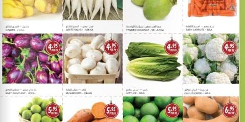 Fresh Fruits & Vegetables Special Offer
