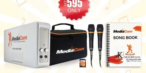 Mediacom Porto pro 7000 Karaoke Gitex Special