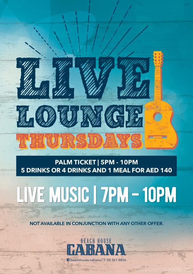 Live Lounge Thursdays