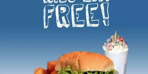 kids eat FREE Lunch at Big Daddys Dubai